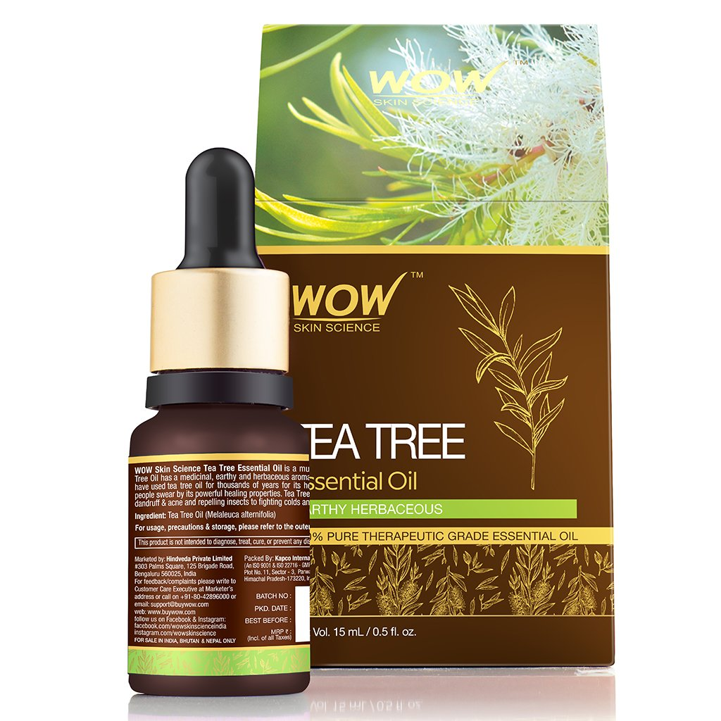 WOW Skin Science Tea Tree Essential Oil - BuyWow