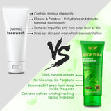 WOW Skin Science Aloe Vera Hydrating Face Wash – 100 mL - BuyWow
