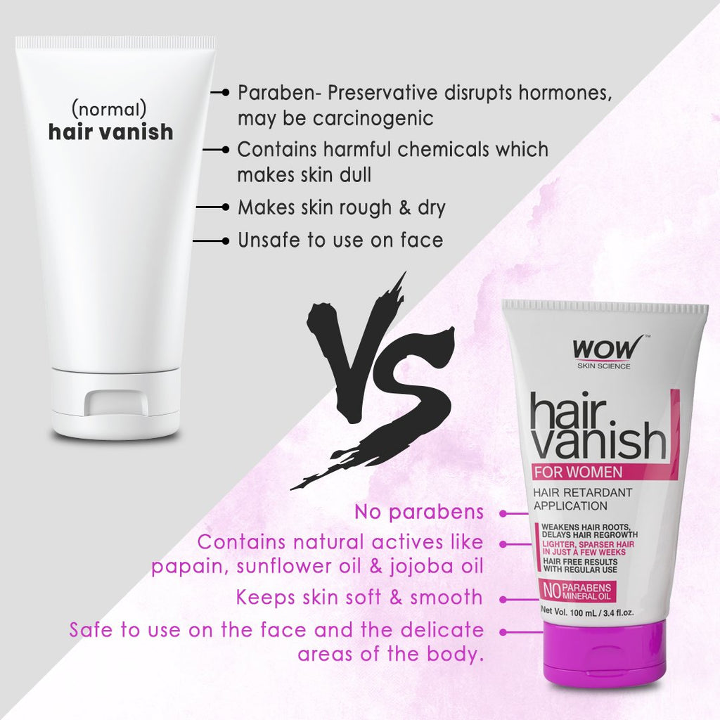 WOW Skin Science Hair Vanish for Women - 100 mL - BuyWow