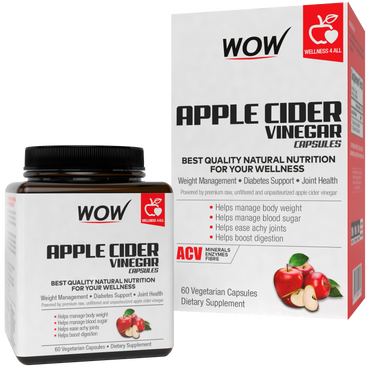 WOW Life Science Apple Cider Vinegar Capsules
