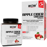 WOW Life Science Apple Cider Vinegar Capsule Supplement - BuyWow