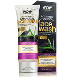 WOW Skin Science Activated Charcoal Face Wash - 100 mL - BuyWow