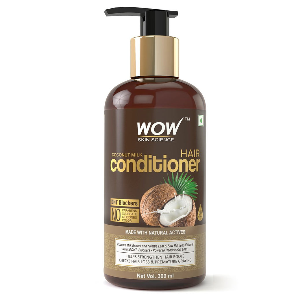 WOW Skin Science Coconut Milk Conditioner - 300 mL - BuyWow