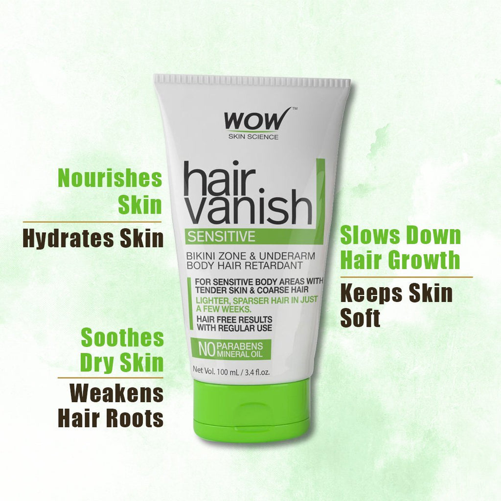 WOW Skin Science Hair Vanish Sensitive - 100 mL - BuyWow