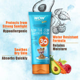 WOW Skin Science Kids Ban-the-Sun Sunscreen Cream - SPF 30+ PA+++  - BuyWow