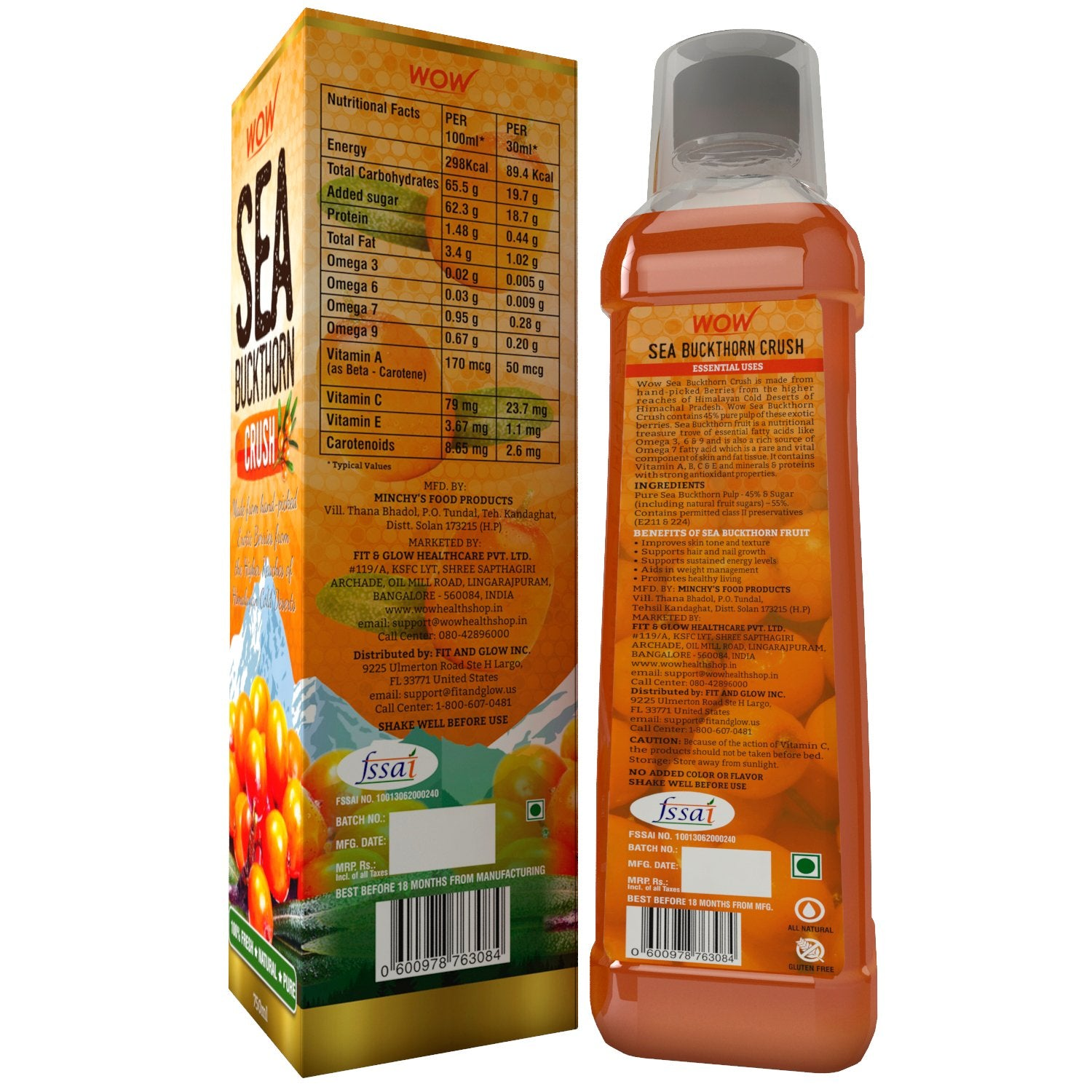 Wow Sea Buckthorn Crush - BuyWow