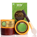 WOW Skin Science Anti-Aging Fuji Matcha Green Tea Clay Face Mask for Repairing & Reviving Tired Aging Skin- No Parabens, Sulphate, Mineral Oil & Color - 200 ml