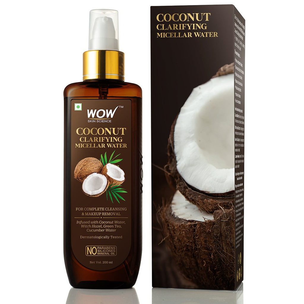 WOW Skin Science Coconut Clarifying Micellar Water - 200 ml - BuyWow