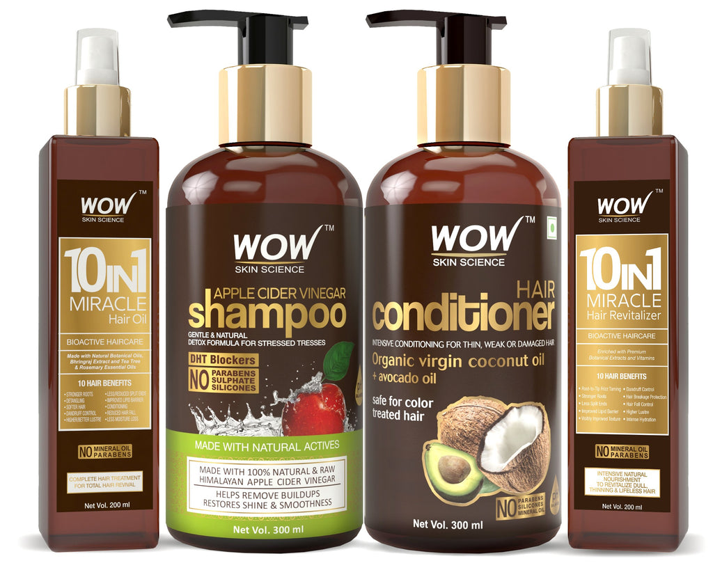Wow Skin Science Beautiful Ultimate Hair Care Kit Buywow Global