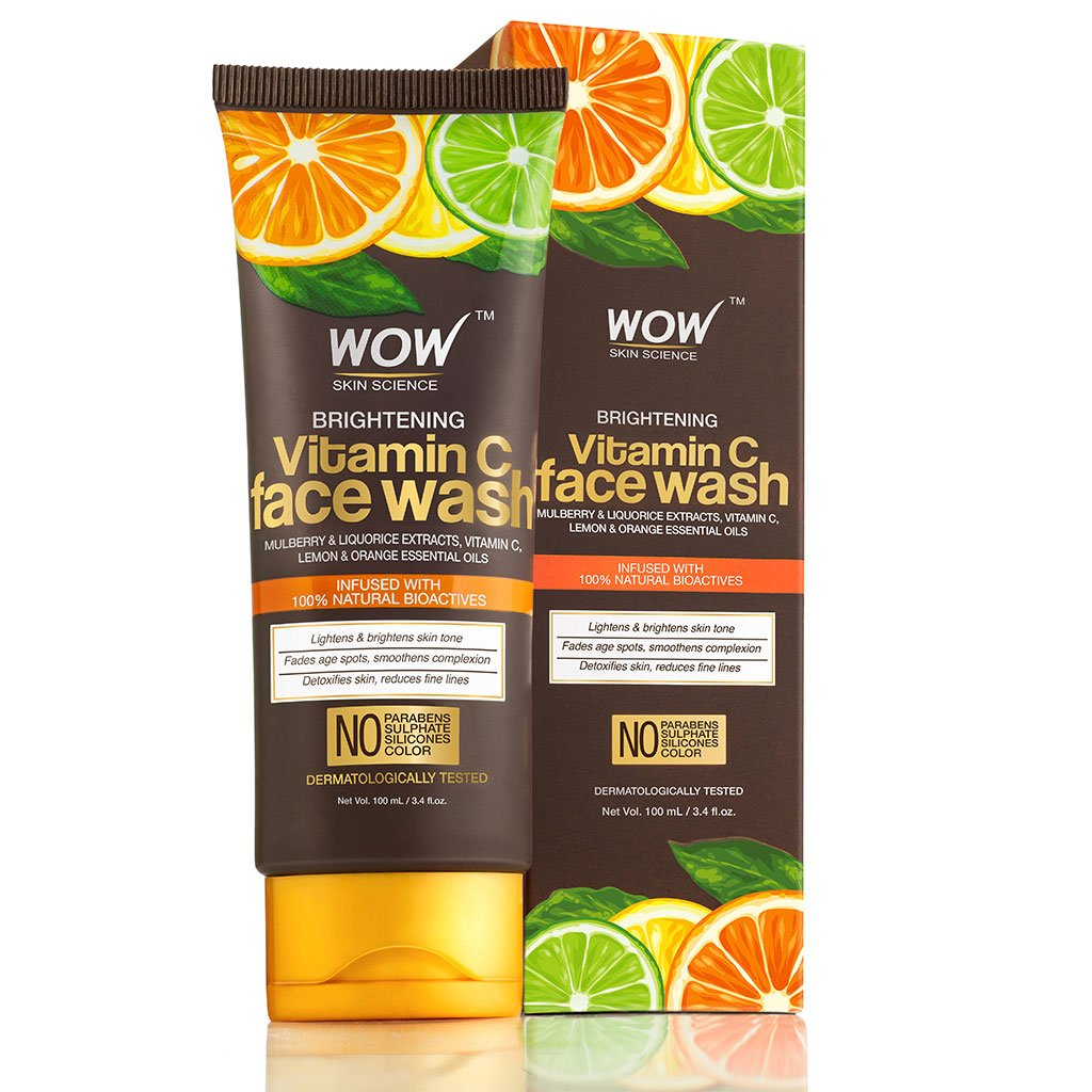 WOW Skin Science Vitamin C Brightening Face Wash – 100 mL - BuyWow