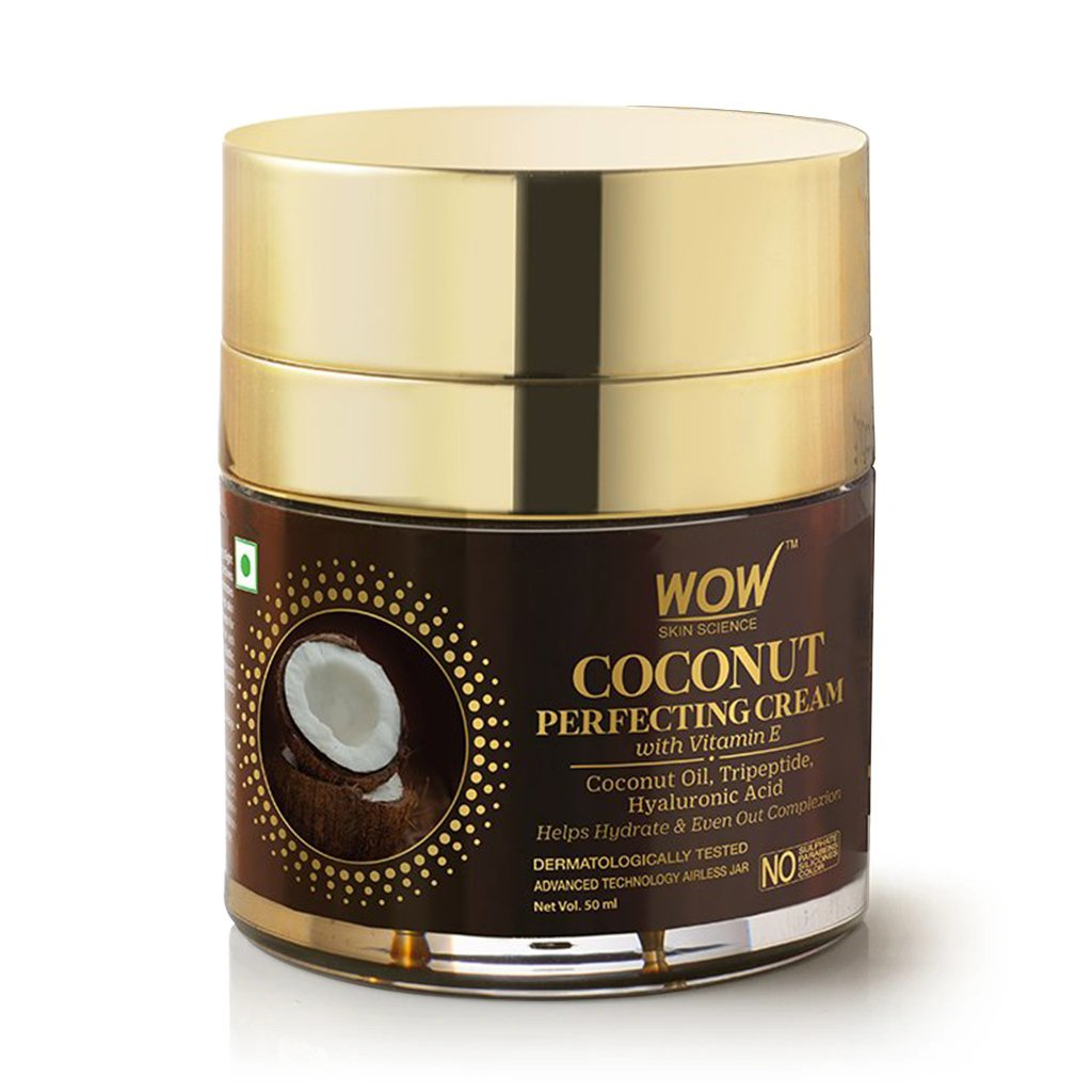 WOW Skin Science Coconut Perfecting Cream with Vitamin E 50mL - BuyWow