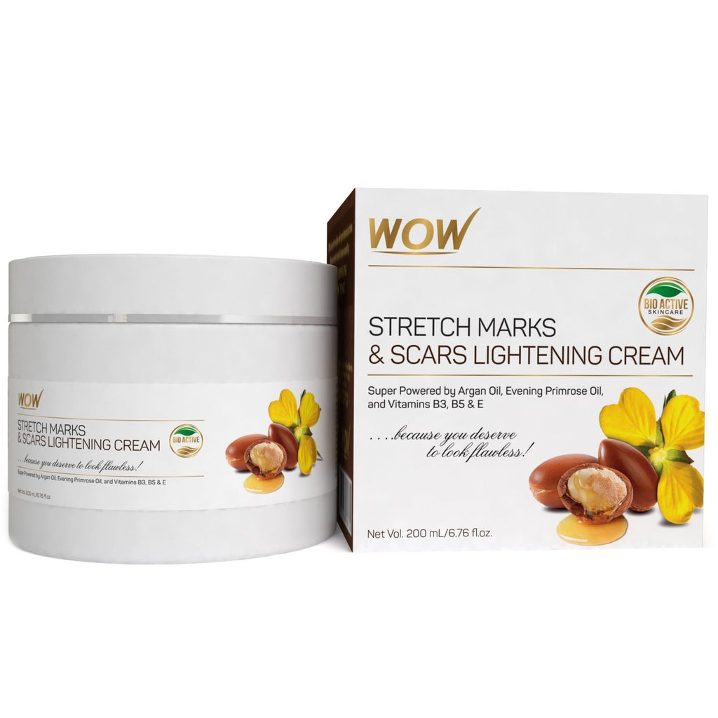 WOW Skin Science Stretch Marks and Scars Lightening Cream - 200 mL - BuyWow