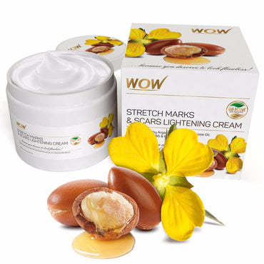 WOW Skin Science Stretch Marks and Scars Lightening Cream - 200 mL