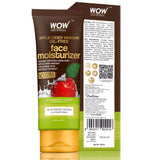 WOW Skin Science Organic Apple Cider Vinegar Face Moisturizer - Oil Free, Quick Absorbing - For Normal/Oily and Acne Prone Skin - No Parabens, Silicones, Mineral Oil, Color - 100mL - BuyWow