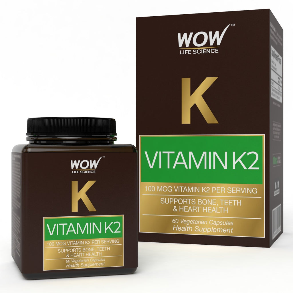 WOW Life Science Vitamin K2 60 Capsules - BuyWow