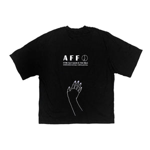 AFAMILIARFACE O/S GRAPHIC T-SHIRT