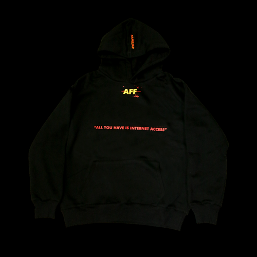 AFAMILIARFACE SEARCH ENGINE HOODIE
