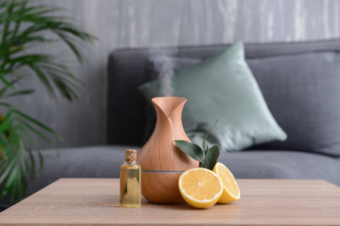 Aromatherapy is a great way to benefit from citrus terpenes - Abstrax Tech