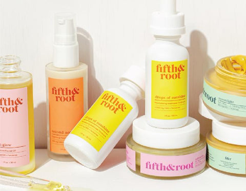 Fifth & Root infuses their skincare products with terpenes to enhance their effects - Abstrax Tech