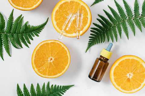 Oranges are full of vitamin C and Citrus Terpenes - Abstrax Tech