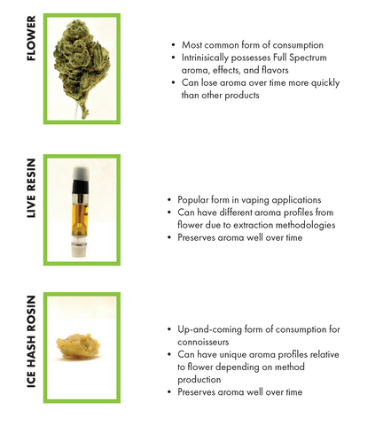 differences between different cannabis products