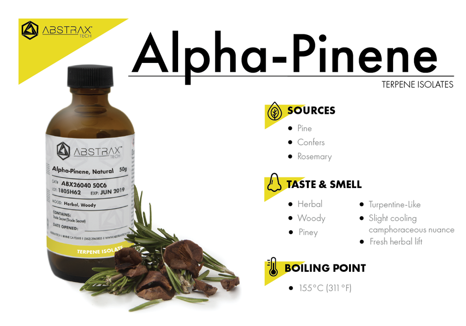 Alpha-Pinene | Terpene Isolate | Abstrax Tech
