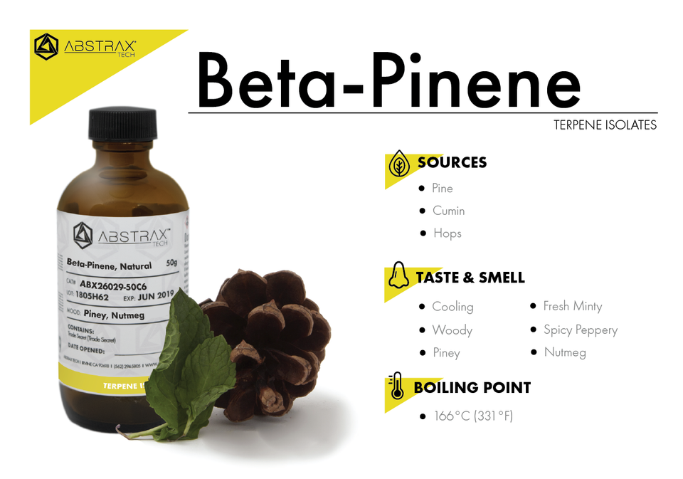 Beta-Pinene | Terpene Isolate | Abstrax Tech