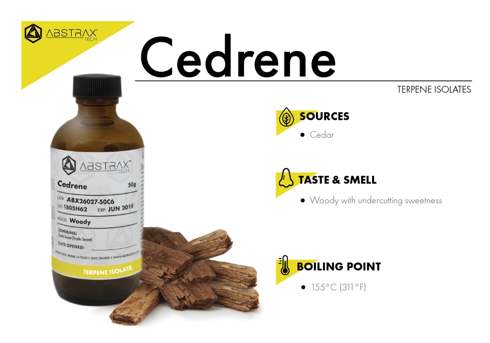 Cedrene | Terpene Isolate | Abstrax Tech