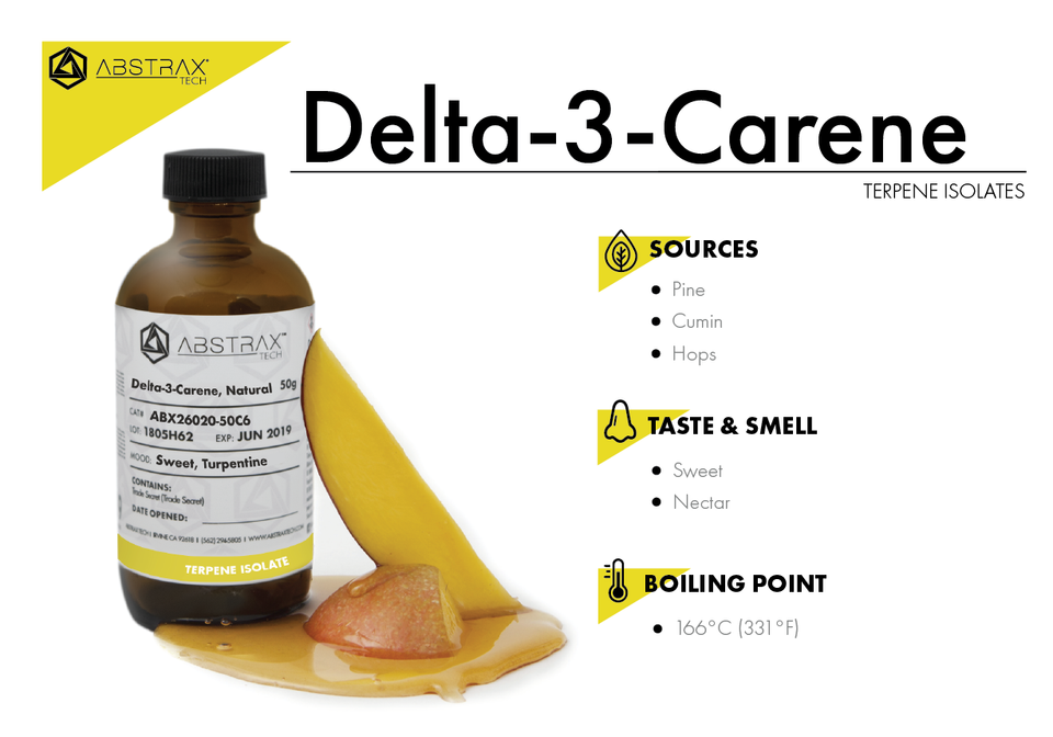 Delta-3-Carene | Terpene Isolate | Abstrax Tech
