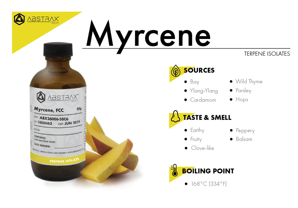 Myrcene | Terpene Isolate | Abstrax Tech