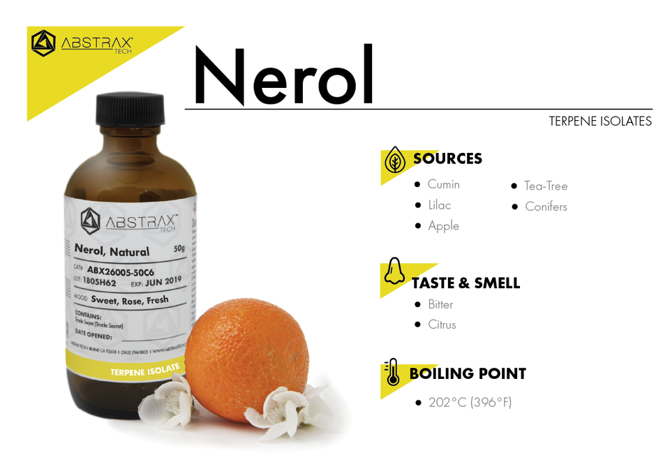 Nerol | Terpene Isolate | Abstrax Tech