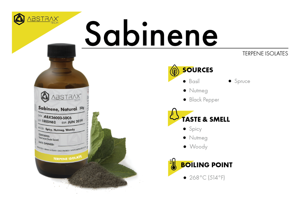 Sabinene | Terpene Isolate | Abstrax Tech