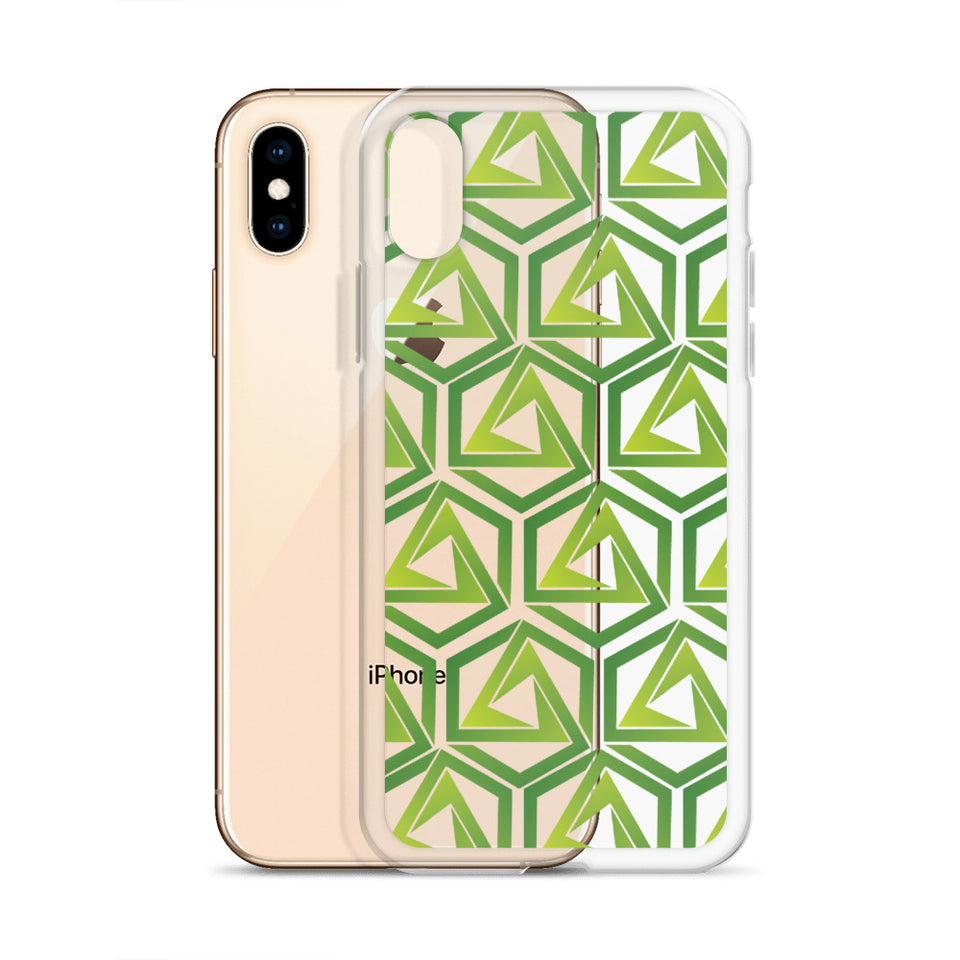 Abstrax Green iPhone Case