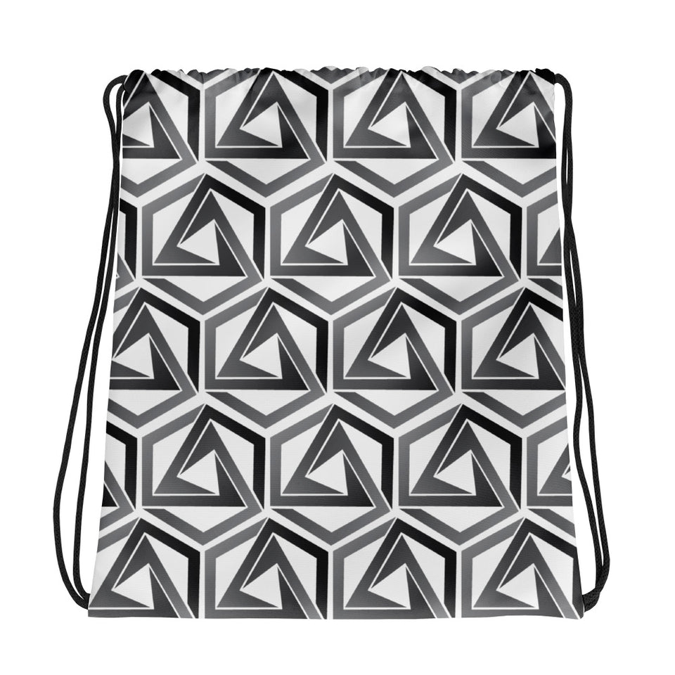 Abstrax Drawsting Bag