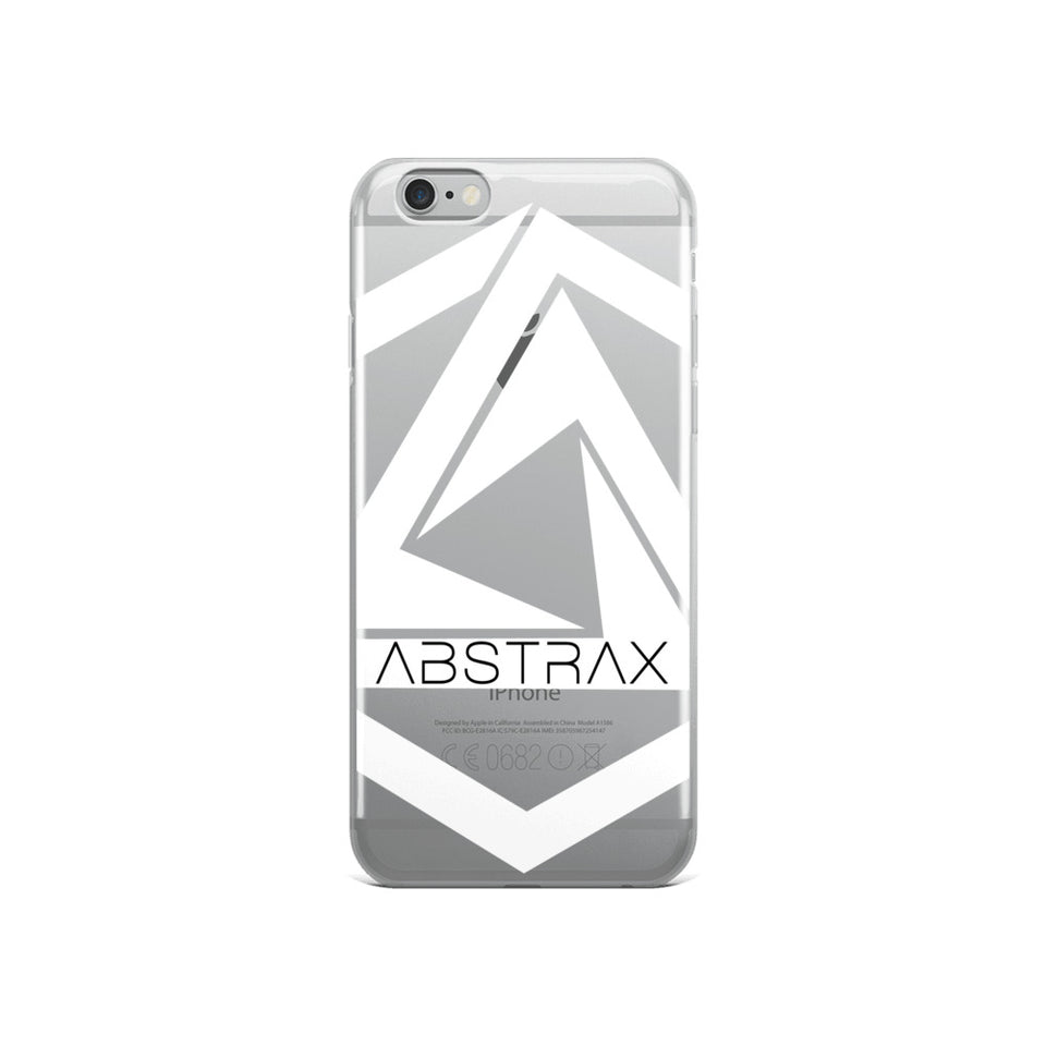 ABSTRAX WHITE  IPHONE CASE