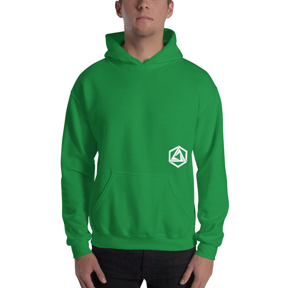 Abstrax Green Hoodie
