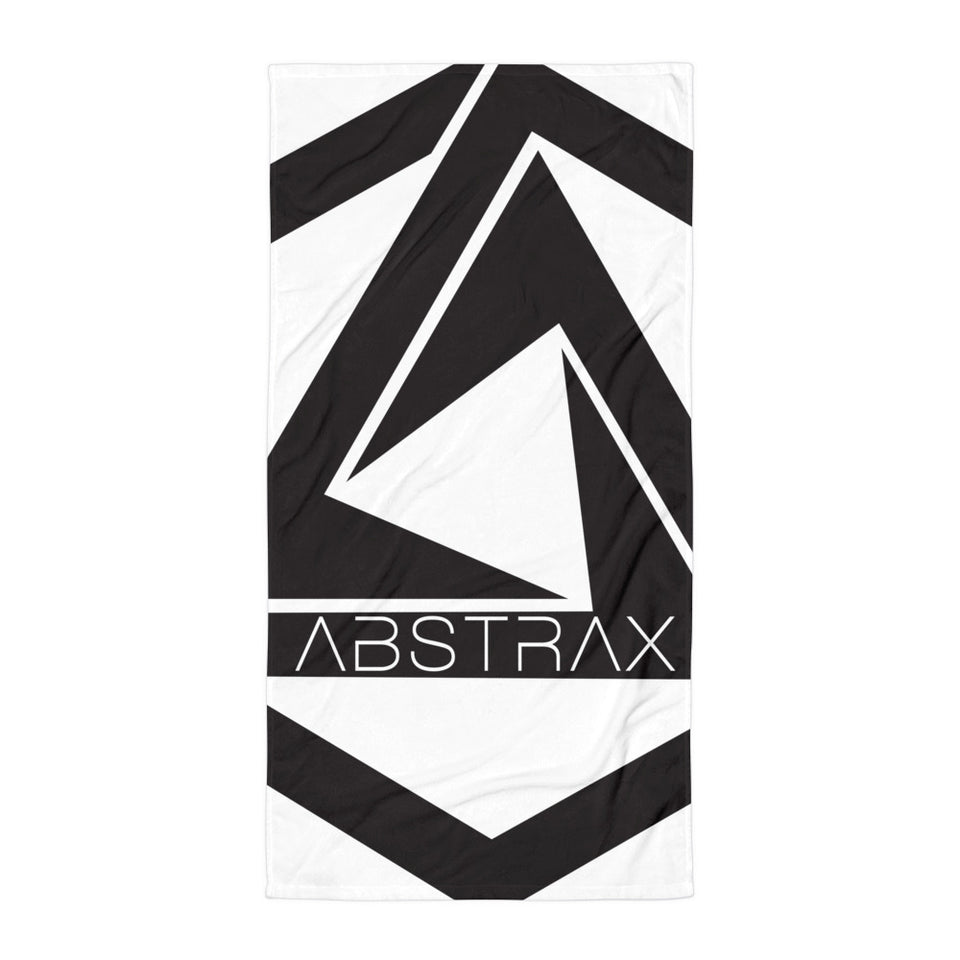 ABSTRAX BLACK TOWEL