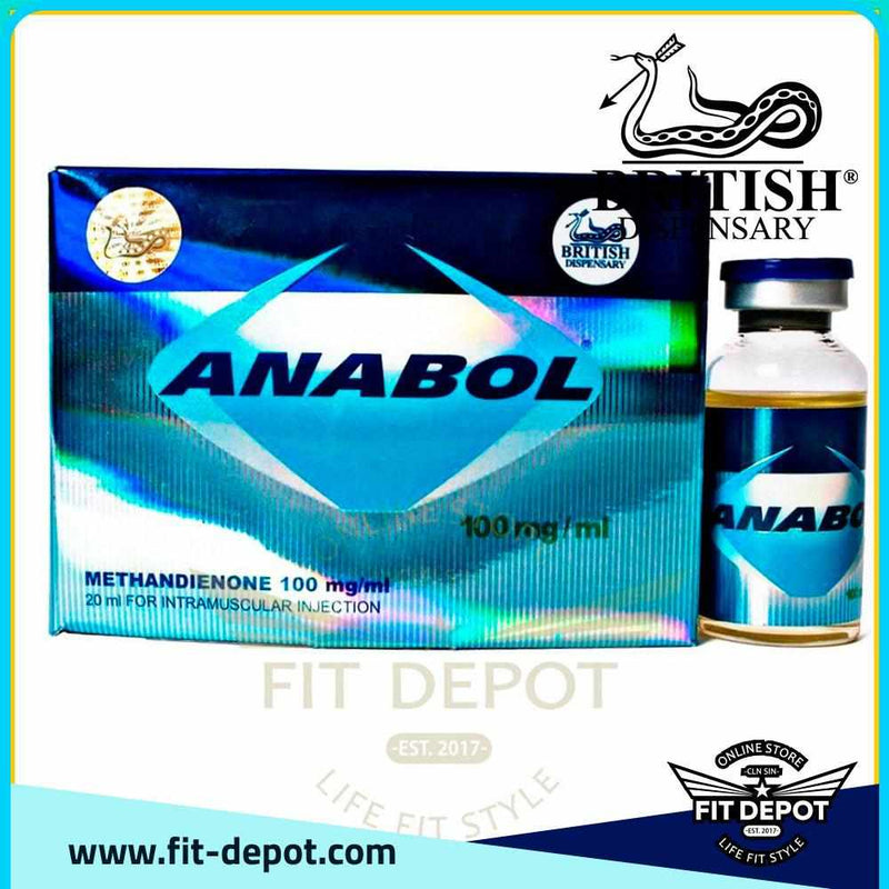 Anabol - Methadiendone 100 mg/ml / British Dispensary - FIT Depot de México