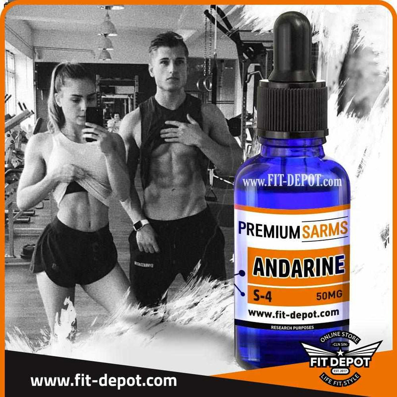 Andarine S4 / 30ML / 50MG - PREMIUM SARMS - FIT Depot de México