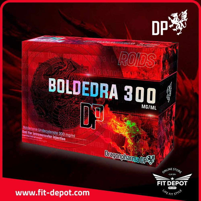 BOLDEDRA 300 BOLDENONA Undecylenate 300 mg / ml - FIT Depot de México | ESTEROIDES DRAGON PHARMA