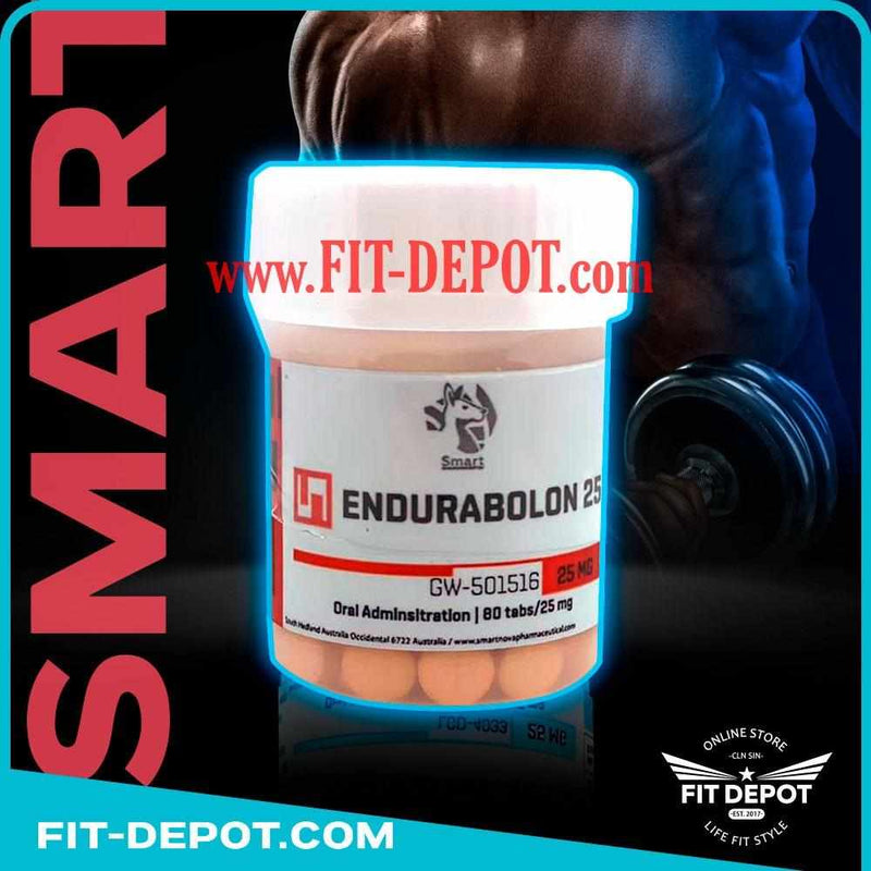 CARDARINE (endurabol) gw-501516 | 25 mg / 80 Tabletas | SARMS SMART - SARMS