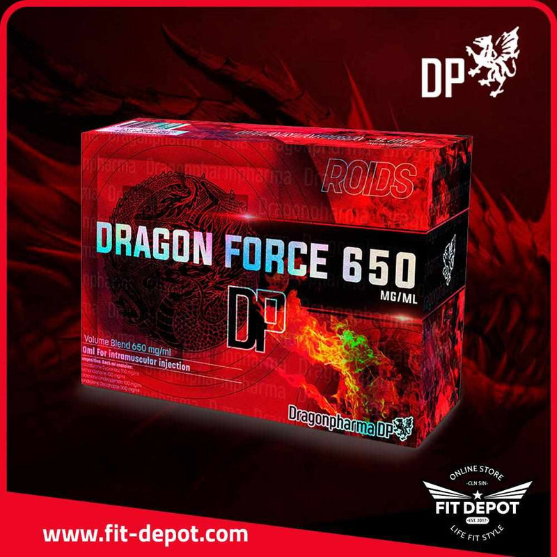 DRAGON FORCE 650 Testosterone Cypionate 150 mg/ml Methandienone 100 mg/ml Boldenone Undecylenate 100 mg/ml Nandrolone Decanoate 300 mg/ml - FIT Depot de México | ESTEROIDES DRAGON PHARMA