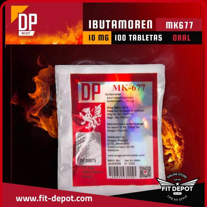 Ibutamoren MK677 10 MG / 100 TABLETAS | SARMS DRAGON PHARMA - FIT Depot de México