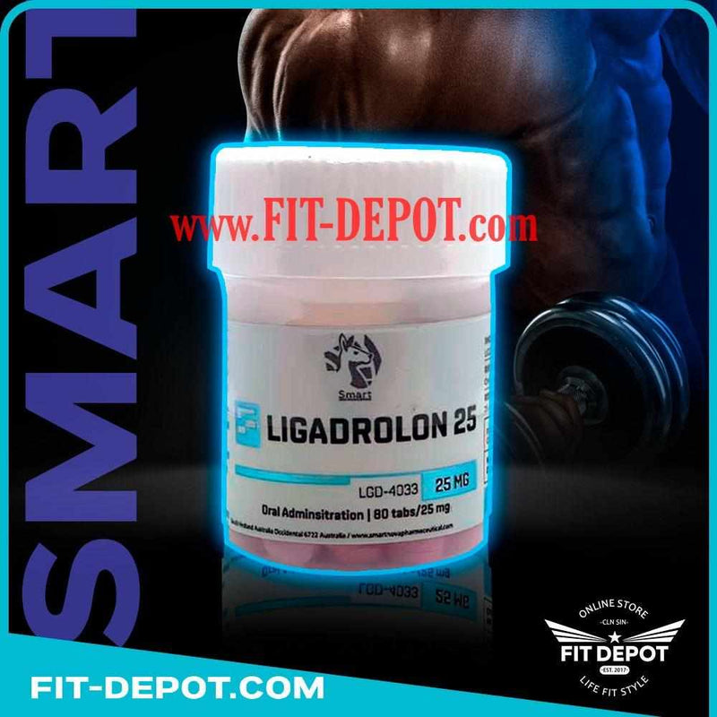 LIGANDROL (LGD-4033) 25mg / 80 Tabletas | SARMS SMART - SARMS