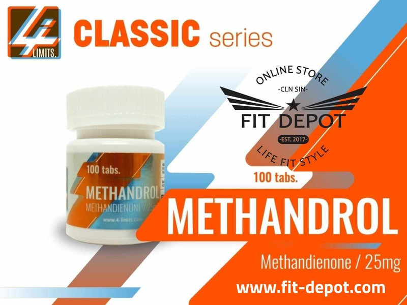 METANDROL - Methandienone 25 mg / DIANABOL 100 TABLETAS 4-LIMITS - FIT Depot de México