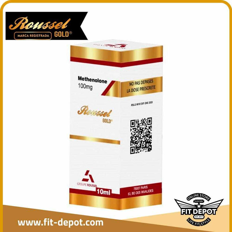 METHENOLONE PRIMOBOLAN 100 MG / 10 ML - DE ROUSSEL - FIT Depot de México