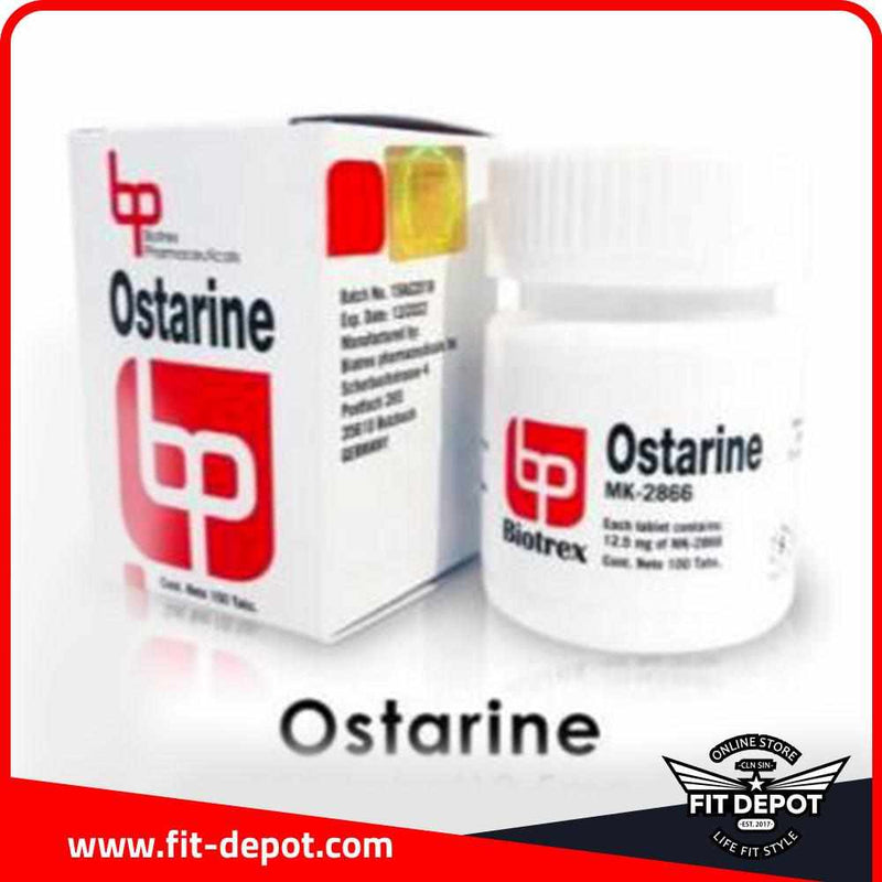 Ostarine 12.5 mg / 100 tabletas | SARMS BIOTREX - FIT Depot de México