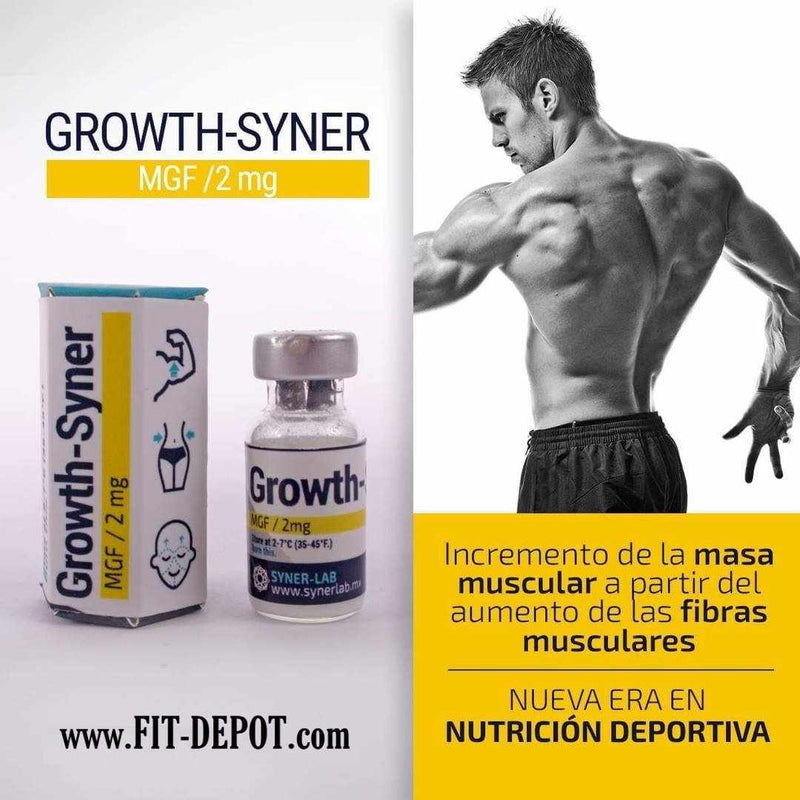 Péptido MGF - 2mg - / (Growth-Syner MGF) - Crecimiento Muscular Local / SYERLAB - FIT Depot de México