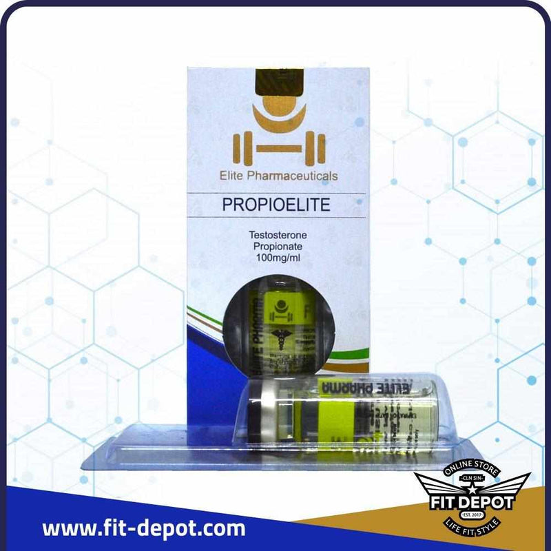 Propioelite Testosterone Propionate 100mg/ml. - Elite Pharmaceuticals - FIT Depot de México Testoelite-E 300 Testosterone Enantate 300mg/ml. | ESTEROIDES ELITE PHARMACEUTICALS