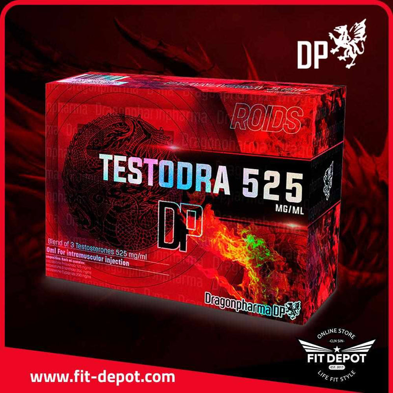 PROPIONATO TESTODRA 525 Testosterone Propionate 125 mg/ml Testosterone Enanthate 200 mg/ml Testosterone Cypionate 200 mg/ml - FIT Depot de México | ESTEROIDES DRAGON PHARMA